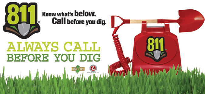 Call Before You Dig.