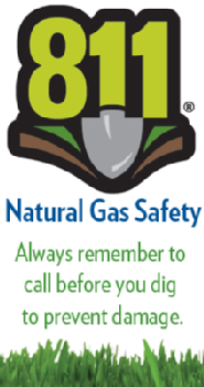 Dial 811 before you dig!