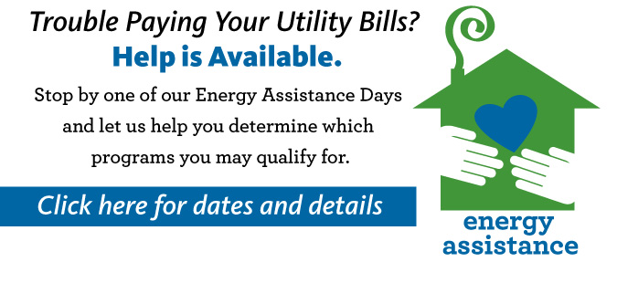 Energy Assistance Days Coming Your Way