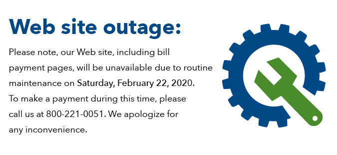 Website Outage 2-22-20